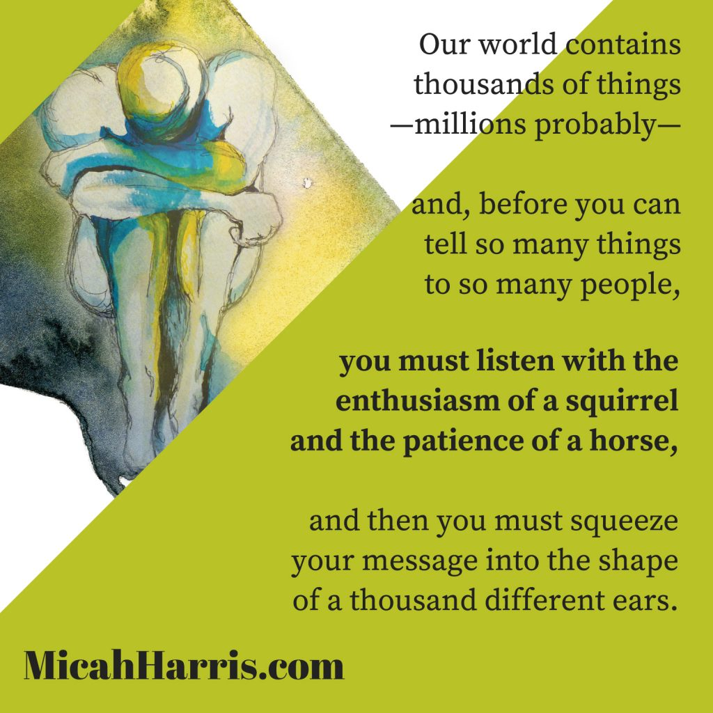 MicahHarris.com Our world contains thousands of things-millions probably-
