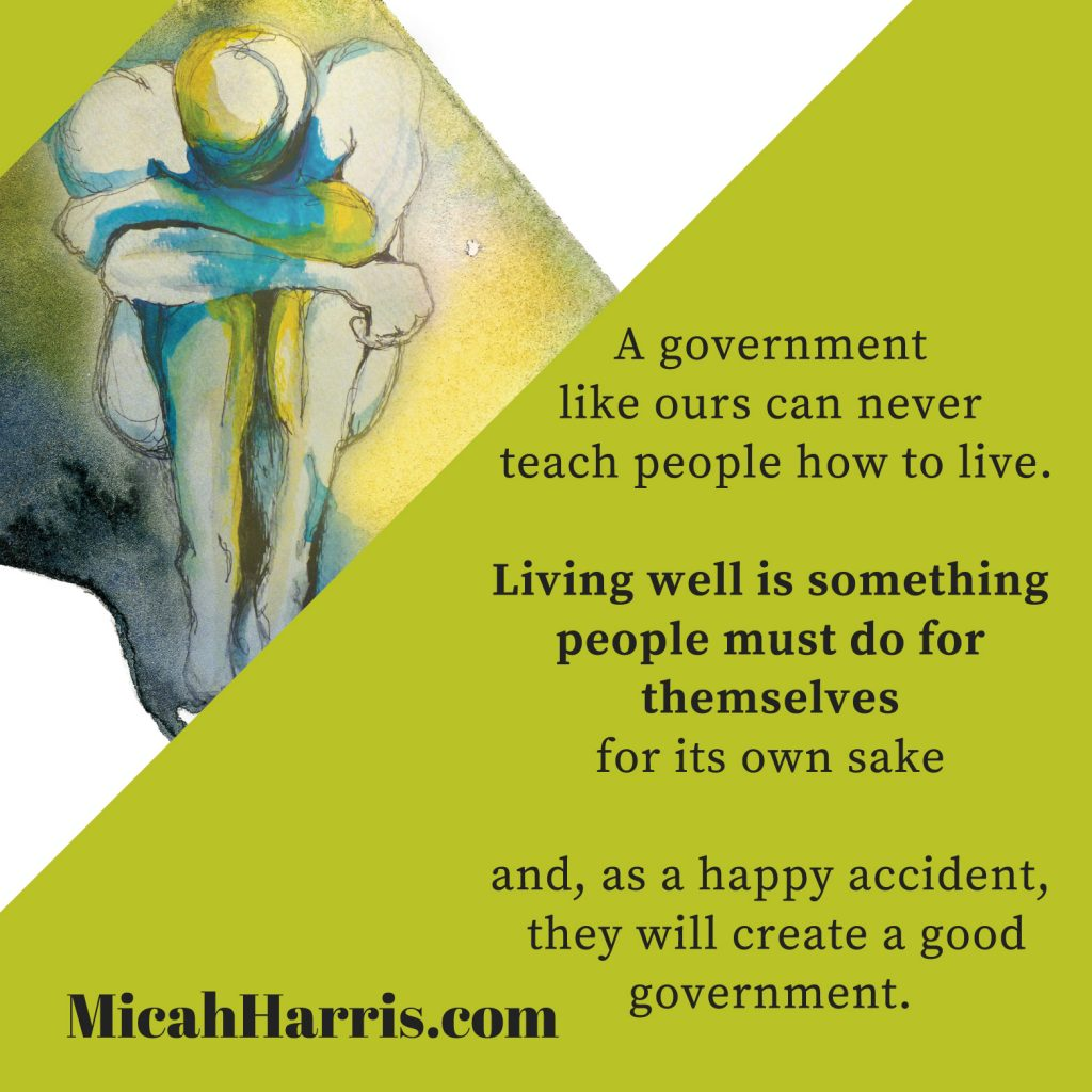 MicahHarris.com Living well is something people must do for themselves